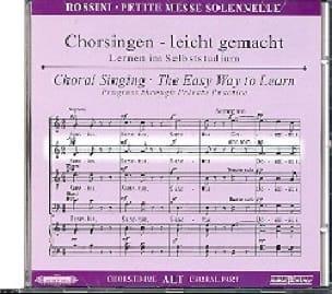 Petite Messe Solennelle. CD Alto - ROSSINI - laflutedepan.com