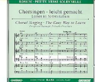 Petite Messe Solennelle. CD Basse - ROSSINI - laflutedepan.com