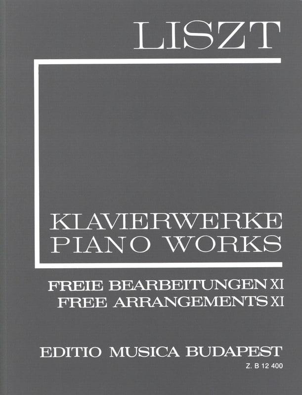 Free Arrangements, Série 2 Volume 11 - LISZT - laflutedepan.com