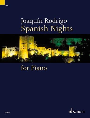 Spanish Nights - RODRIGO - Partition - Piano - laflutedepan.com