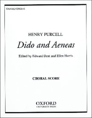 Henry Purcell - Dido and Aeneas. Chorus alone - Partition - di-arezzo.co.uk