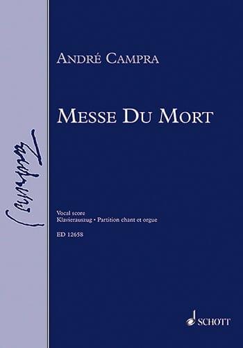 André Campra - Mass of the Dead - Partition - di-arezzo.co.uk