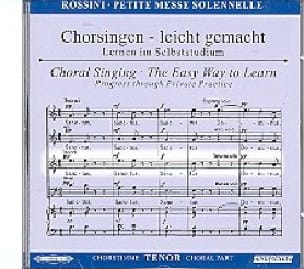 Petite Messe Solennelle. CD Ténor - laflutedepan.com