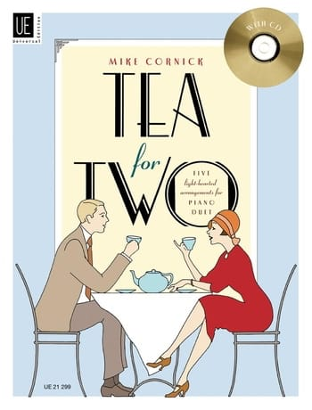 Mike Cornick - Tea For 2. 4 Hands - Partition - di-arezzo.co.uk