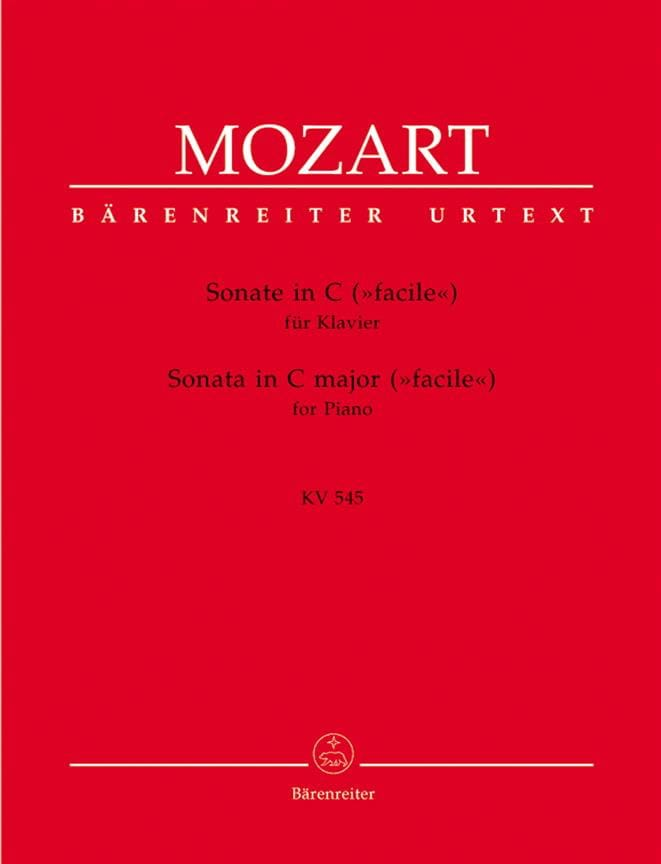Sonate K 545 Facile - MOZART - Partition - Piano - laflutedepan.com