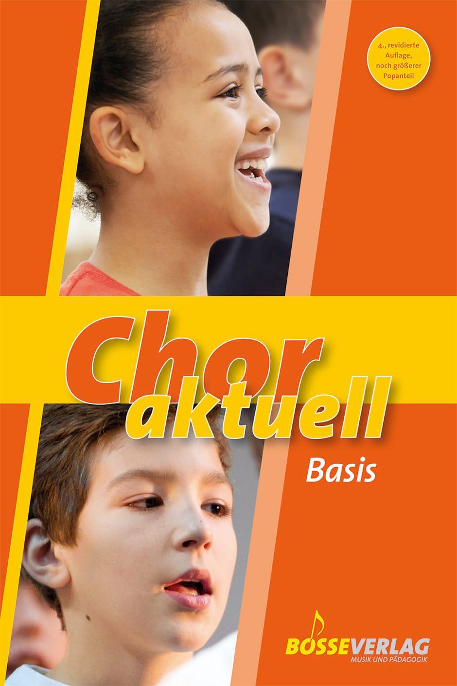 Chor Aktuell Basis - Partition - Chœur - laflutedepan.com