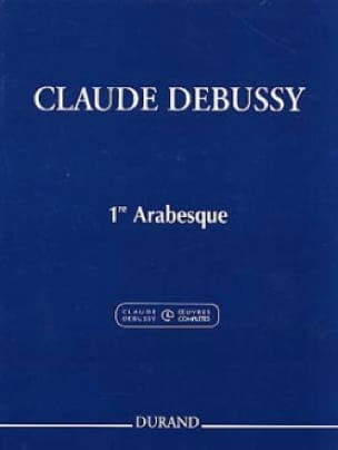 DEBUSSY - 1st Arabesque - Partition - di-arezzo.co.uk