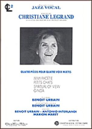 4 Pièces Pour Voix Mixtes Volume 2 - laflutedepan.com
