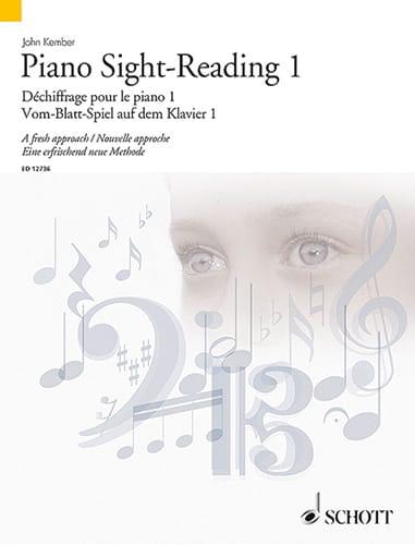 John Kember - Piano Sight-Reading Volume 1 - Partition - di-arezzo.co.uk