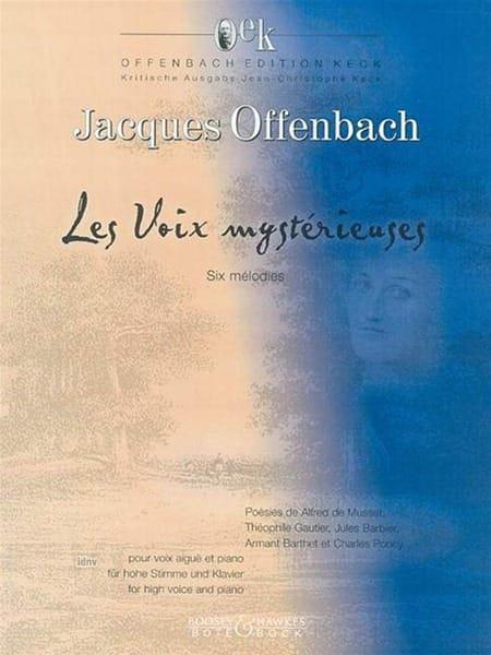 Les Voix Mystérieuses. - OFFENBACH - Partition - laflutedepan.com