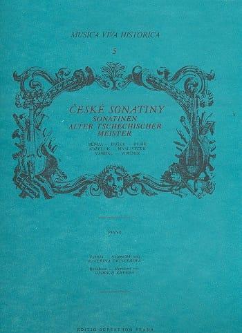 Alter Tschechischer Meister - Partition - Piano - laflutedepan.com