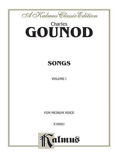 Songs Volume 1. Voix Moyenne - GOUNOD - Partition - laflutedepan.com