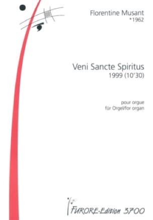 Veni Sancte Spiritus - Florentine Mulsant - laflutedepan.com