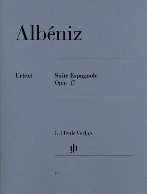 Isaac Albeniz - Suite Espagnole Opus 47 - Partition - di-arezzo.fr