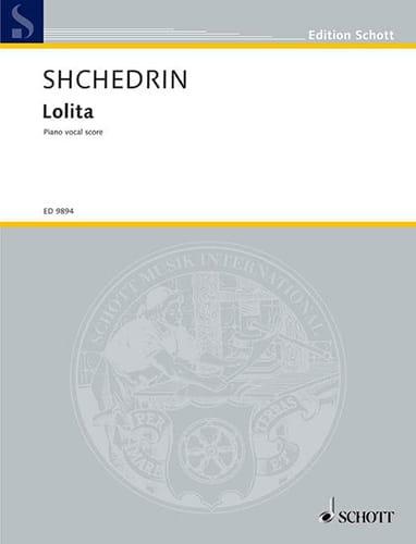 Rodion Chedrin - Lolita - Partition - di-arezzo.co.uk
