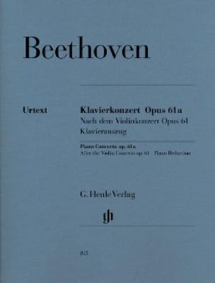 Concerto Pour Piano Opus 61a D'après le Concerto Pour Violon Opus 61 - laflutedepan.com
