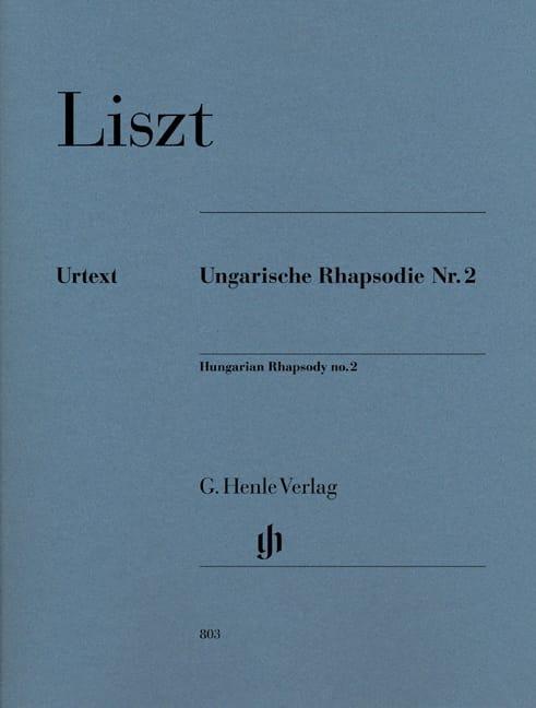 Rhapsodie Hongroise N° 2 - LISZT - Partition - laflutedepan.com