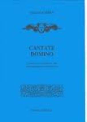 André Campra - Cantate Domino - Partition - di-arezzo.co.uk