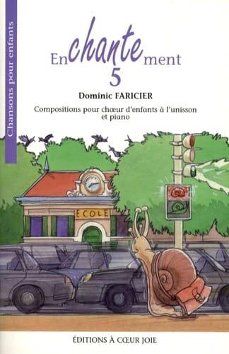 Dominic Faricier - Enchantment 5 - Partition - di-arezzo.co.uk