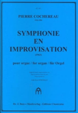 Pierre Cochereau - Symphony In Improvisation - Partition - di-arezzo.co.uk