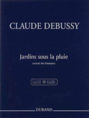 Jardins sous la Pluie - DEBUSSY - Partition - Piano - laflutedepan.com
