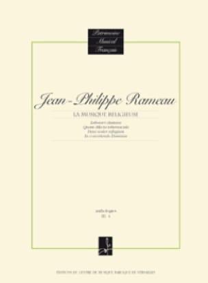 Jean-Philippe Rameau - Musique Religieuse - Partition - di-arezzo.fr
