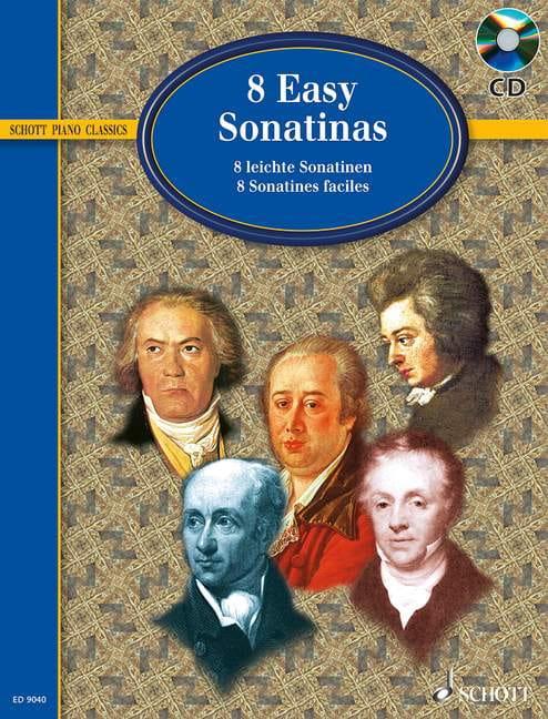 8 Easy Sonatinas - Partition - Piano - laflutedepan.com