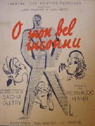 O Mon Bel Inconnu - Reynaldo Hahn - Partition - laflutedepan.com