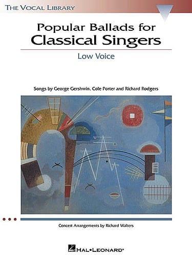 Popular Ballads For Classical Singers Voix Grave - laflutedepan.com
