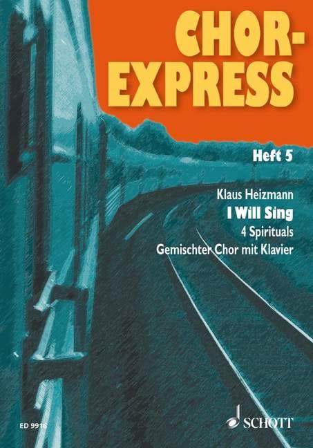 Chor-Express Volume 5 - Karl Heizmann - Partition - laflutedepan.com