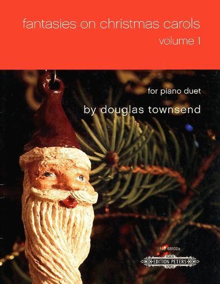 Fantasies On Christmas Carols Vol 1. 4 Mains - laflutedepan.com