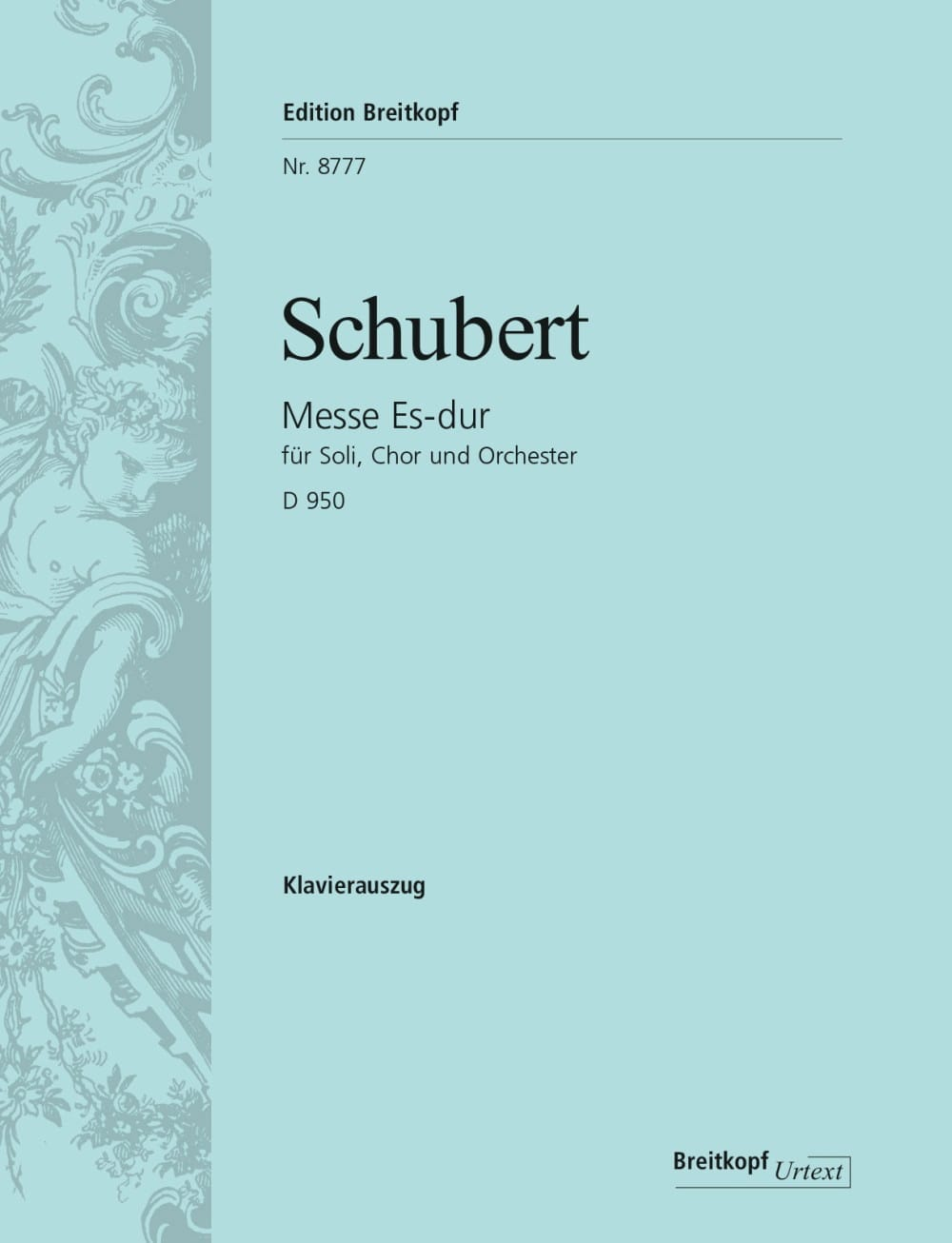 SCHUBERT - Mass in E flat Major D 950 - Partition - di-arezzo.co.uk