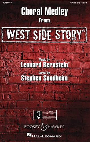 Leonard Bernstein - West Side Story. Choral Medley - Partition - di-arezzo.co.uk