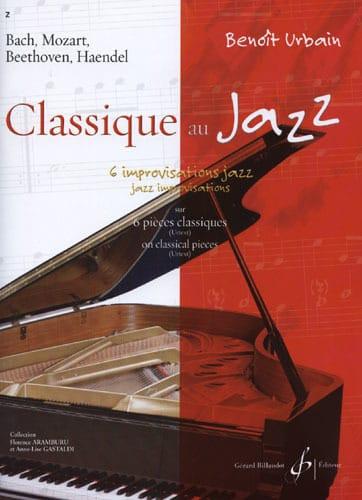 Benoît Urbain - Jazz Classical - Partition - di-arezzo.es