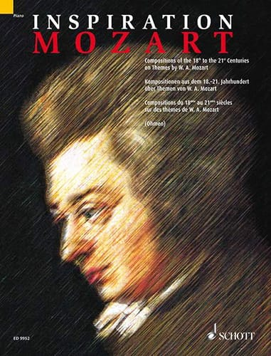 Inspiration Mozart - Partition - Piano - laflutedepan.com