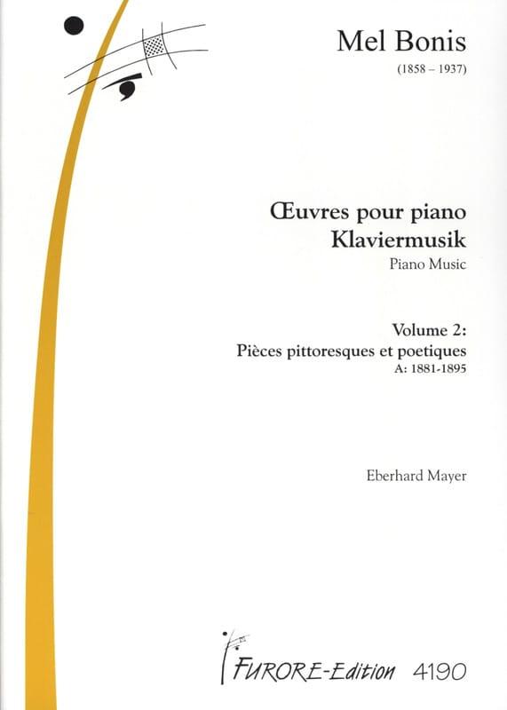 Mel Bonis - Piano Works Volume 2 - Partition - di-arezzo.co.uk