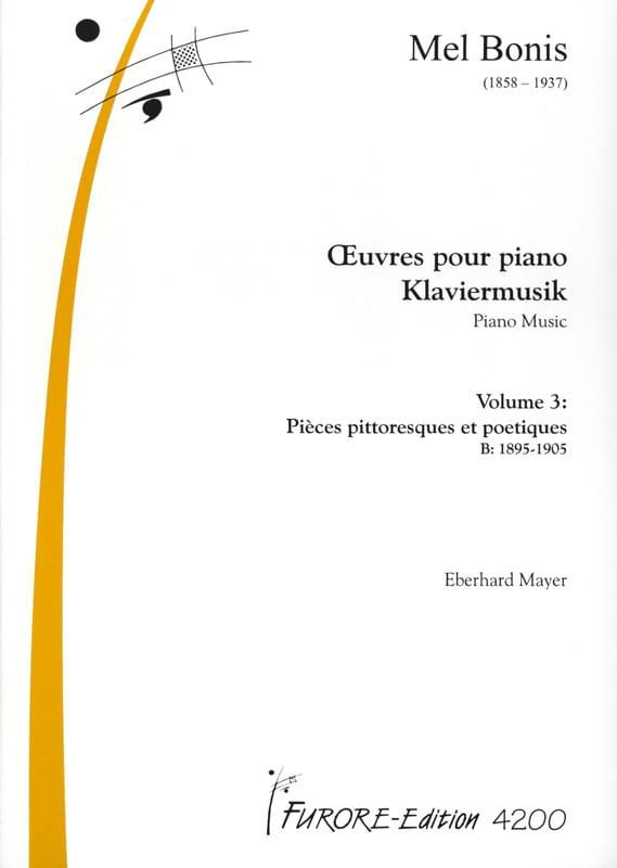 Mel Bonis - Piano Works Volume 3 - Partition - di-arezzo.co.uk