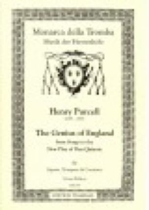 The Genius Of England - PURCELL - Partition - laflutedepan.com