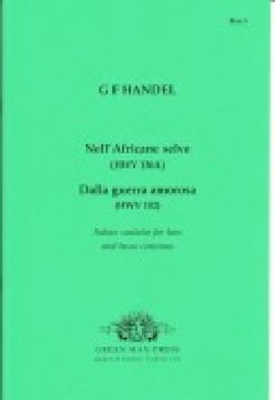 Italienische Kantaten Für Bass - HAENDEL - laflutedepan.com
