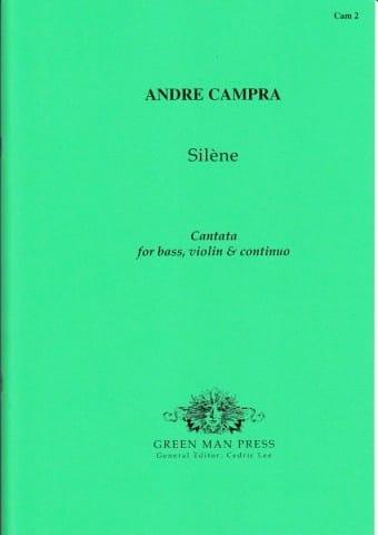 Silène - CAMPRA - Partition - laflutedepan.com