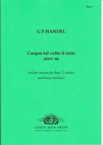 Cuopre Tal Volto il Cielo HWV 98 - HAENDEL - laflutedepan.com
