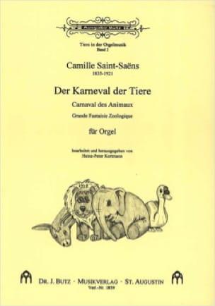 Le Carnaval des Animaux. Orgue - SAINT-SAËNS - laflutedepan.com