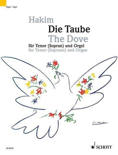 Die Taube - Naji Hakim - Partition - Mélodies - laflutedepan.com