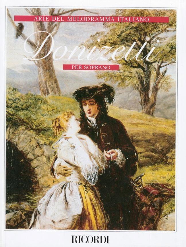 Gaetano Donizetti - Arie Del Melodramma Italiano Per Soprano - Partition - di-arezzo.co.uk