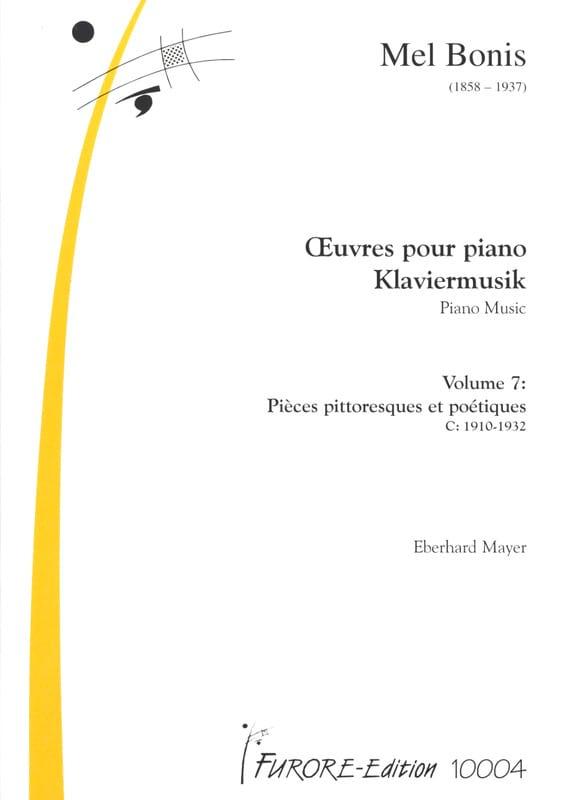 Mel Bonis - Piano Works Volume 7 - Partition - di-arezzo.co.uk