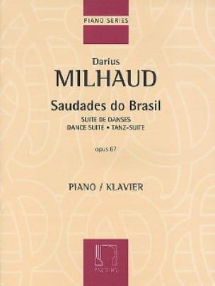 Darius Milhaud - Saudades Do Brazil Opus 67 - Partition - di-arezzo.co.uk