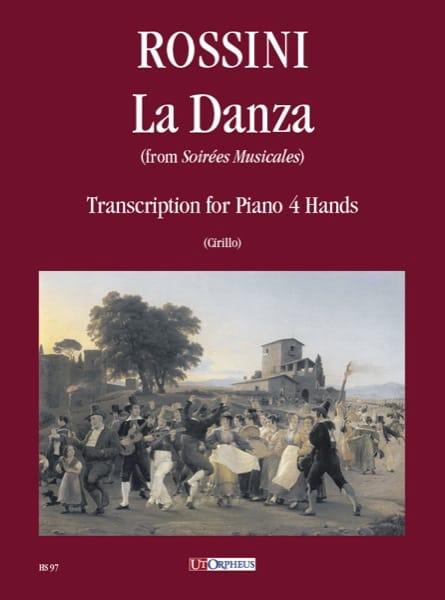 La Danza. 4 Mains - ROSSINI - Partition - Piano - laflutedepan.com