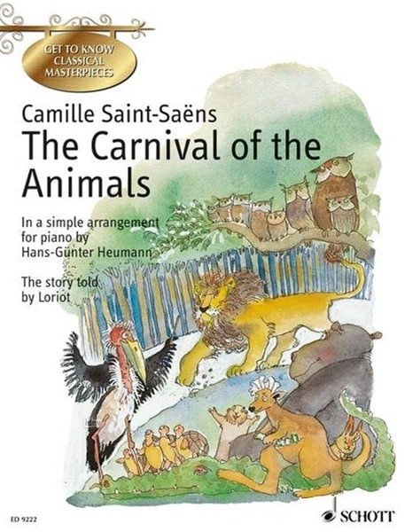 Camille Saint-Saëns - The Carnival of the English Animals - Partition - di-arezzo.co.uk
