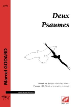 2 Psaumes - Marcel Godard - Partition - Chœur - laflutedepan.com