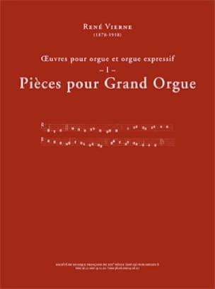 Oeuvres pour orgue. Volume 1 - René Vierne - laflutedepan.com